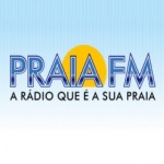 Logo da emissora Radio Praia FM 93.3