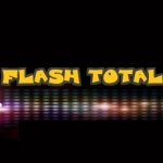Logo da emissora Rádio Flash Total