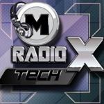 Logo da emissora Rádio Mtech X