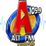 Logo da emissora Rádio Alt 105.9 FM
