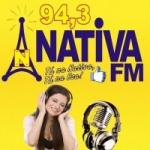 Logo da emissora Rádio Nativa 94.3 FM