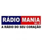 Logo da emissora Rádio Mania 91.3 FM