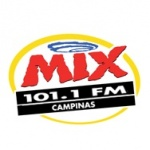 Logo da emissora Rádio Mix 101.1 FM