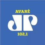 Logo da emissora Rádio Jovempan 102.1 FM