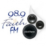 Logo da emissora Radio Faith 98.9 FM