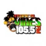 Logo da emissora Radio Tropical Vibes 105.5 FM