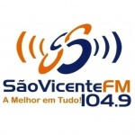 Logo da emissora Rádio São Vicente 104.9 FM