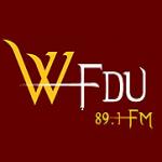 Logo da emissora WFDU 89.1 FM