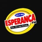 Logo da emissora Rádio Esperança 104.9 FM