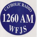 Logo da emissora WFJS 1260 AM