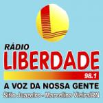 Logo da emissora Rádio Liberdade
