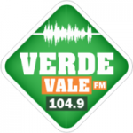 Logo da emissora Rádio Verde Vale 104.9 FM