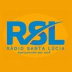 Logo da emissora Rádio Santa Lucia