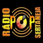 Logo da emissora Rádio Pop Sertaneja