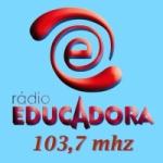 Logo da emissora Rádio Educadora 103.7 FM