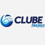 Logo da emissora Rádio Clube 99.1 FM