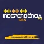 Logo da emissora Rádio Independência do Vale 106.5 FM