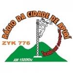 Logo da emissora Rádio Cidade de Apiaí 1500 AM
