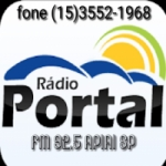Logo da emissora Rádio Portal FM 92.5 Apiai