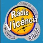 Logo da emissora Rádio Vicência 98.5 FM