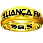 Logo da emissora Rádio Aliança 98.5 FM