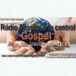 Logo da emissora Rádio Missionária Central Gospel