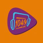 Logo da emissora Rádio 104 FM Pomerode