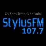 Logo da emissora Rádio Stylus 107.7 FM