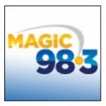 Logo da emissora WMGQ 98.3 FM