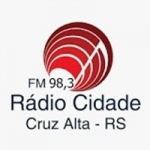 Logo da emissora Rádio Cidade FM Cruz Alta