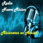 Logo da emissora Rádio Nueva Mision