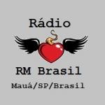 Logo da emissora Rádio RM Brasil