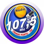 Logo da emissora Rádio Cidade Porto FM