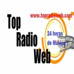 Logo da emissora Top Rádio Web