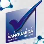 Logo da emissora Rádio Vanguarda 1370 AM