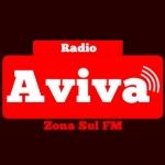 Logo da emissora Rádio Aviva Zona Sul FM