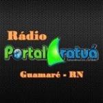 Logo da emissora Rádio Portal Aratuá