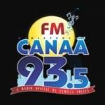Logo da emissora Rádio Ministério Canaã 93.5 FM