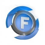 Logo da emissora Rádio Farol 104.3 FM