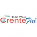 Logo da emissora Rádio Crente Fiel
