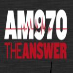 Logo da emissora WNYM 970 AM