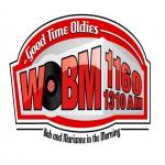 Logo da emissora WOBM 1160 AM