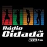 Logo da emissora Rádio Cidadã 87.5 FM