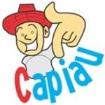 Logo da emissora Rádio Capiau Caipira