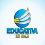 Logo da emissora Rádio Educativa 106.3 FM