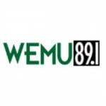 Logo da emissora WEMU 89.1 FM NPR