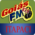 Logo da emissora Rádio Goiás 87.9 FM