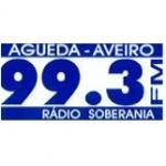 Logo da emissora Rádio Soberania 99.3 FM