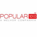 Logo da emissora Rádio Popular 101.0 FM