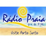 Logo da emissora Radio Praia 91.6 FM